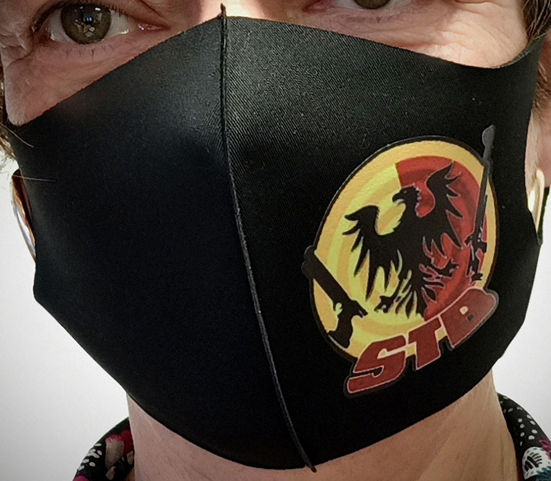 masque logo du club