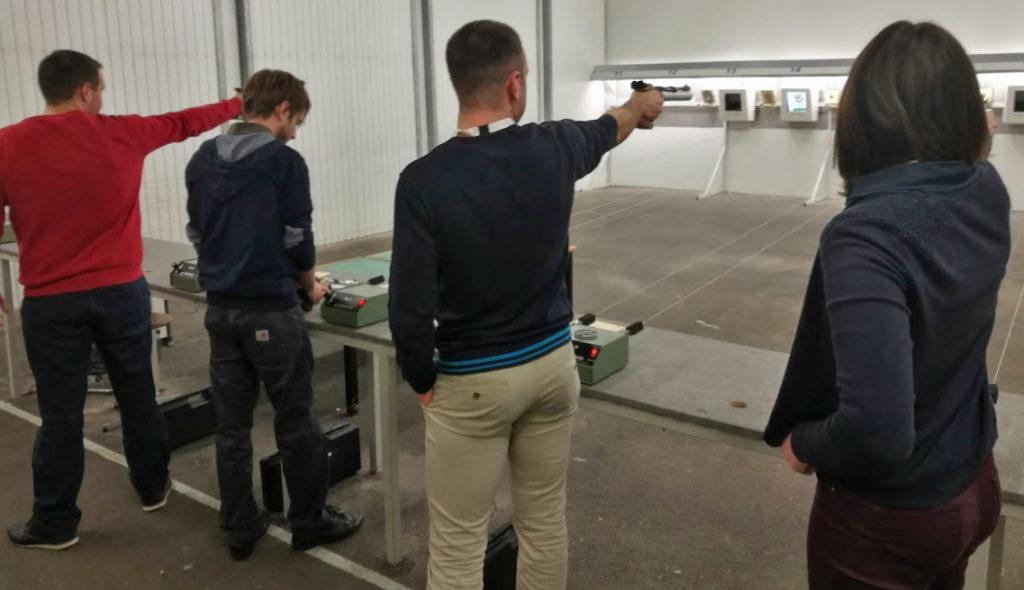 tir pistolet 10 m